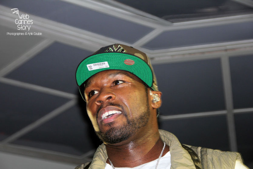 50 cent en Guest Star, au Vip Room de Jean-Roch - Festival de Cannes 2012 - Photo  © Anik Couble