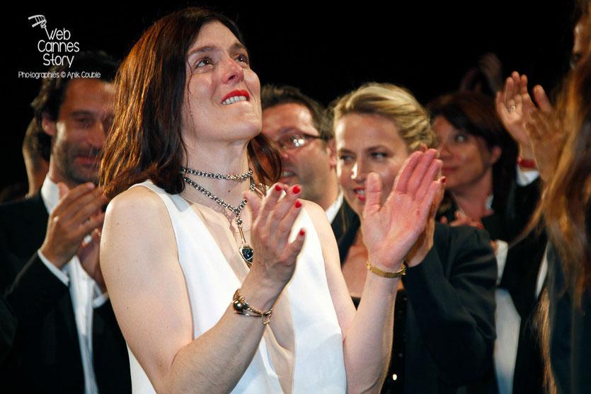 """Valérie Donzelli, lors la projection de son film """"Marguerite et Julien""""  -  Festival de Cannes 2015 - Photo © Anik COUBLE"""
