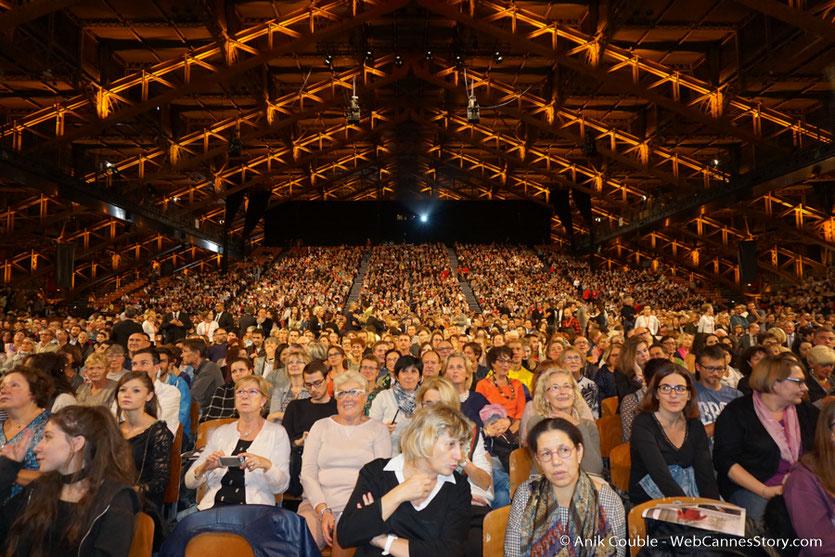 Le public venu nombreux - Clôture du Festival Lumière 2016  - Halle  Tony Garnier de Lyon - Photo © Anik Couble