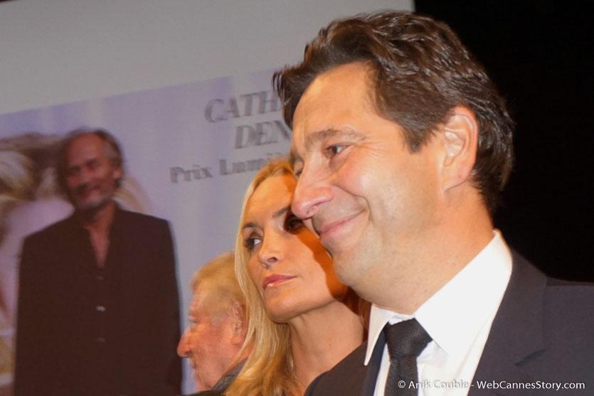 Arrivée de  Laurent Gerra  à la cérémonie de remise du Prix Lumière - Amphitheâtre 3000 - Lyon - Oct 2016  - Photo © Anik Couble