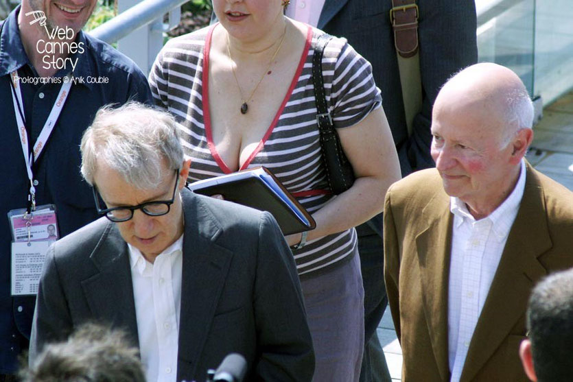 Gilles Jacob et Woody Allen - Festival de Cannes 2005 - Photo © Anik COUBLE