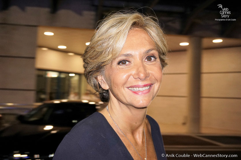 Valérie Pécresse, présidente du conseil régional d'île-de-France  - Festival de Cannes 2016 - Photo © Anik Couble