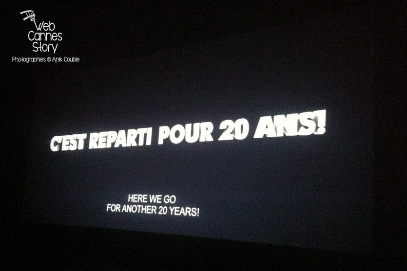 DreamWorks  fêtes ses 20 ans, lors de la projection  de «Dragon 2»,  réalisé par Dean DeBlois - Festival de Cannes 2014 - Photo © Anik COUBLE