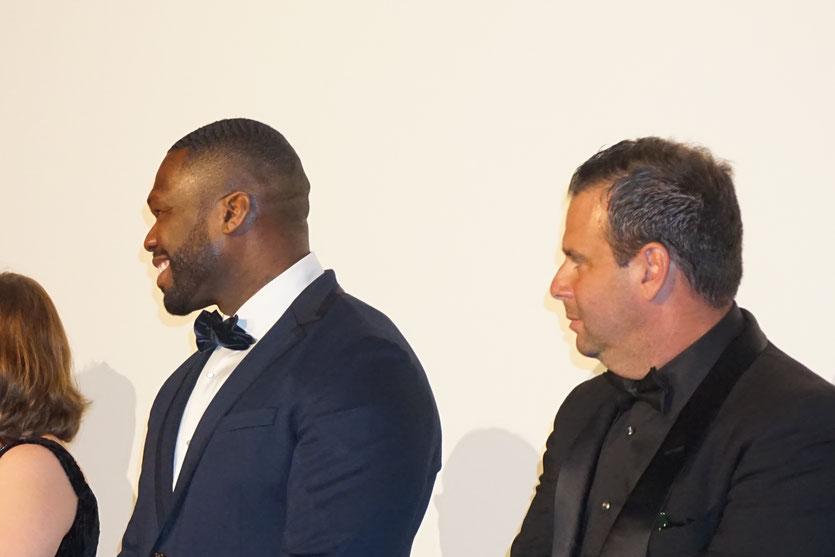 50 cent, lors de la projection du film, Gotti, de Kevin Connolly, présenté, en séance spéciale - Festival de Cannes 2018 - Photo © Anik Couble