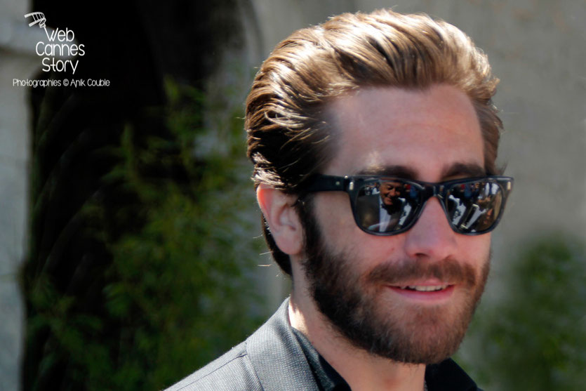 Jake Gyllenhaal, membre du Jury, lors du traditionnel déjeuner de presse, offert par le maire de Cannes - Festival de Cannes 2015 - Photo © Anik COUBLE