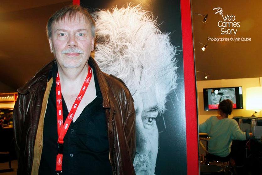 Jean-François Giré, invité de Radio Lumière - Festival Lumière - Lyon - Octobre 2014 - Photo © Anik COUBLE