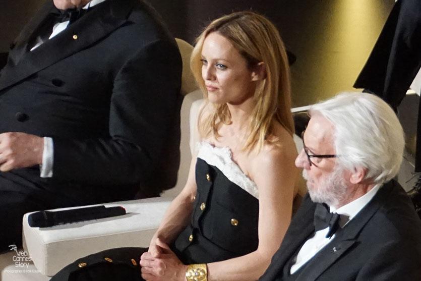 Vanessa Paradis et Donald Sutherland, membres du Jury - Festival de Cannes 2016 - Photo © Anik Couble