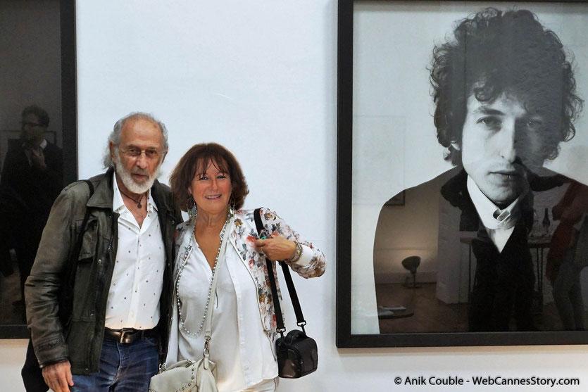 Ma belle rencontre avec Jerry Schatzberg, le réalisateur américain et ancien photographe de mode, lors du vernissage de son exposition, consacrée à de Bob Dylan et installée pendant le Festival Lumière 2018 - Lyon - Photo © Anik Couble