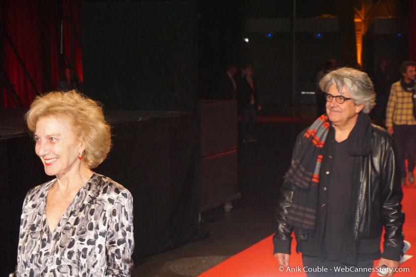 Marisa Paredes et Chema Prado - Clôture du Festival Lumière 2016  - Halle  Tony Garnier de Lyon - Photo © Anik Couble