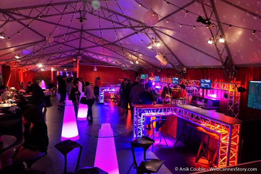 La Plateforme, village de nuit du festival - Nuits Lumière - Festival Lumière 2016 - Lyon - Photo © Anik Couble
