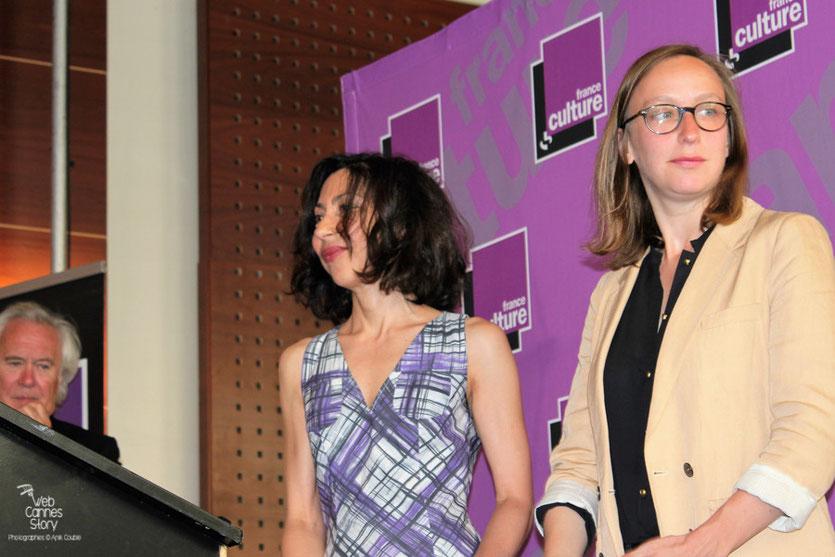 Yasmina Reza, Présidente du jury  et Céline Sciamma, lauréate du Prix Révélation - Festival de Cannes 2011 - Photo © Anik Couble