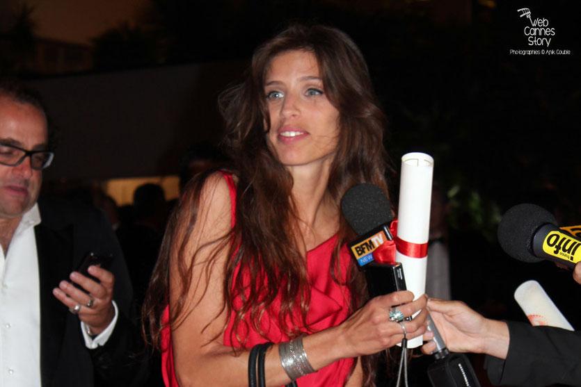 Maïwenn - Prix du Jury  pour  «Polisse» - Festival de Cannes 2011 - Photo © Anik Couble