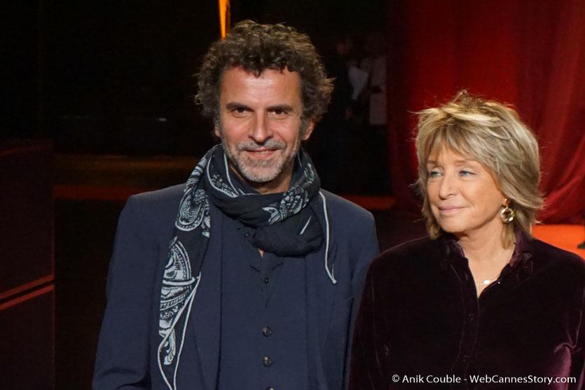 Eric Lartigau et DanièleThompson - Cérémonie d'ouverture - Festival Lumière 2016 - Lyon - Photo © Anik Couble