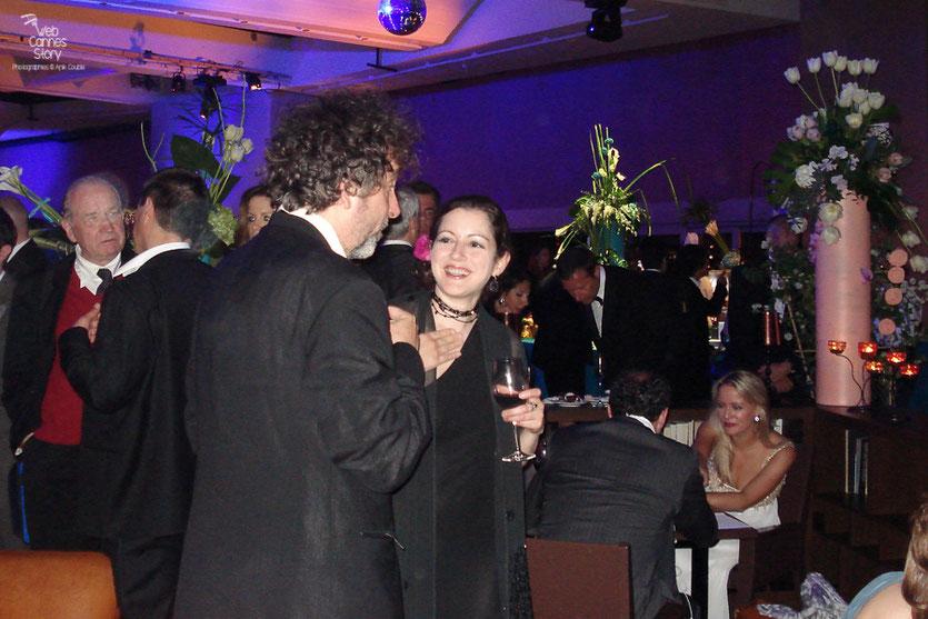 Tim Burton, Président du Jury, lors de la soirée de Clôture - Festival de Cannes 2010 - Photo © Anik Couble