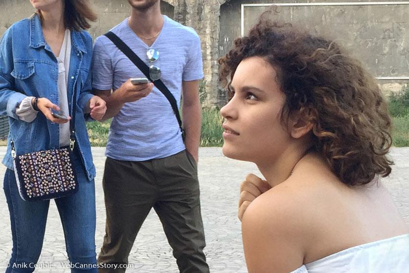 """Cheineze, de la Team des acharnés, sur le tournage du film """"La Finale"""", réalisé par Robin Sykes - Lyon - Juillet 2017 - Photo © Anik Couble"""