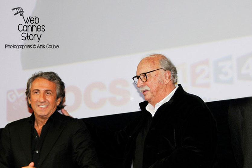 Richard Anconina et Jean Becker - Festival Lumière - Lyon - Oct 2013 - Photo © Anik COUBLE