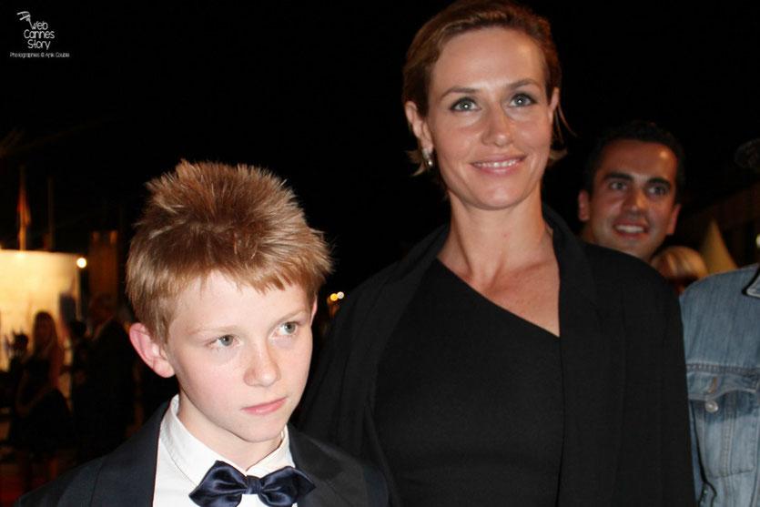 Cécile De France et Thomas Doret - Festival de Cannes 2011 - Photo © Anik Couble