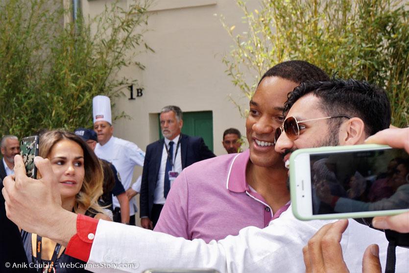 Le prince de la Croisette, Will Smith, membre du Jury, lors de l'aïoli, le traditionnel déjeuner de presse, offert par le Maire de Cannes - Festival de Cannes 2017 - Photo © Anik Couble