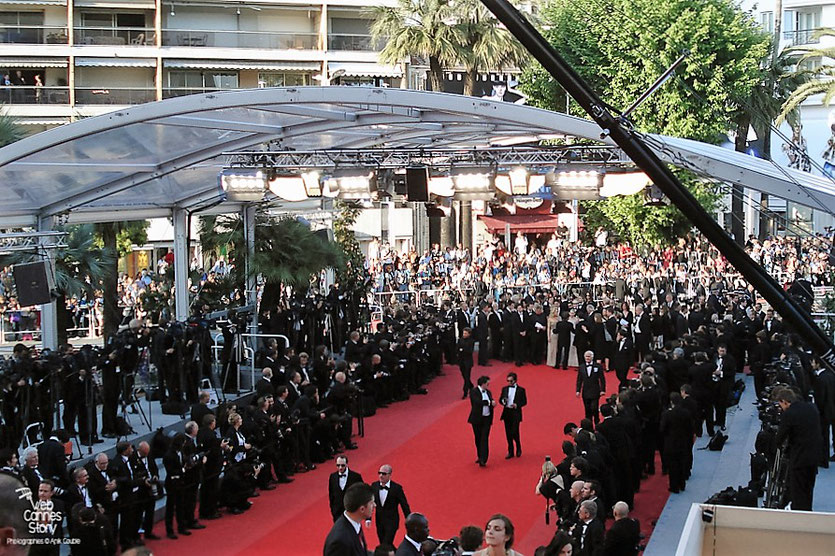 "L'équipe du film "" Fair Game "" de Doug Liman, sur le tapis rouge, avant la projection - Festival de Cannes 2010 - Photo © Anik Couble"