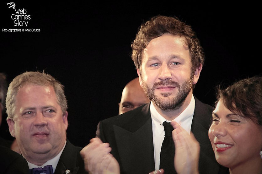 "Chris O'Dowd et Deborah Mailman, lors de la projection du film ""The Sapphires""  de Wayne Blair - Festival de Cannes 2012 -  Photo © Anik Couble"