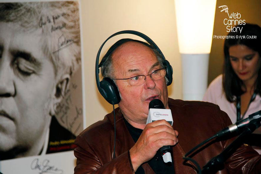Jean-François Stevenin, invité de Radio Lumière - Festival Lumière - Lyon - Octobre 2014 - Photo © Anik COUBLE