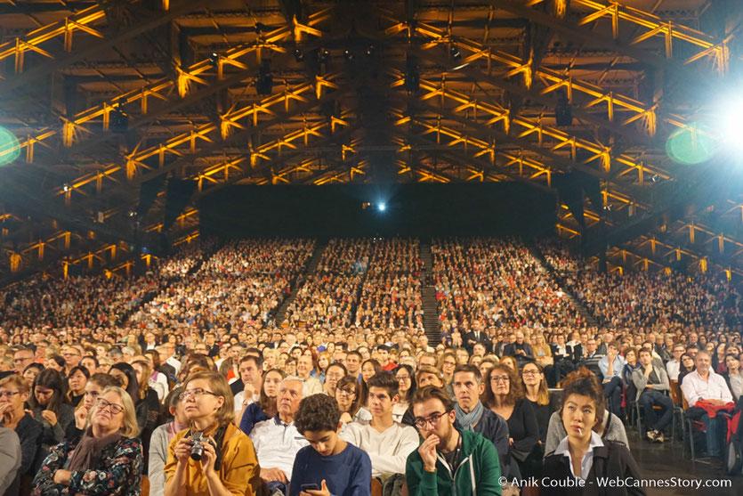 Le public venu nombreux - Clôture du Festival Lumière 2017  - Halle  Tony Garnier de Lyon - Photo © Anik Couble