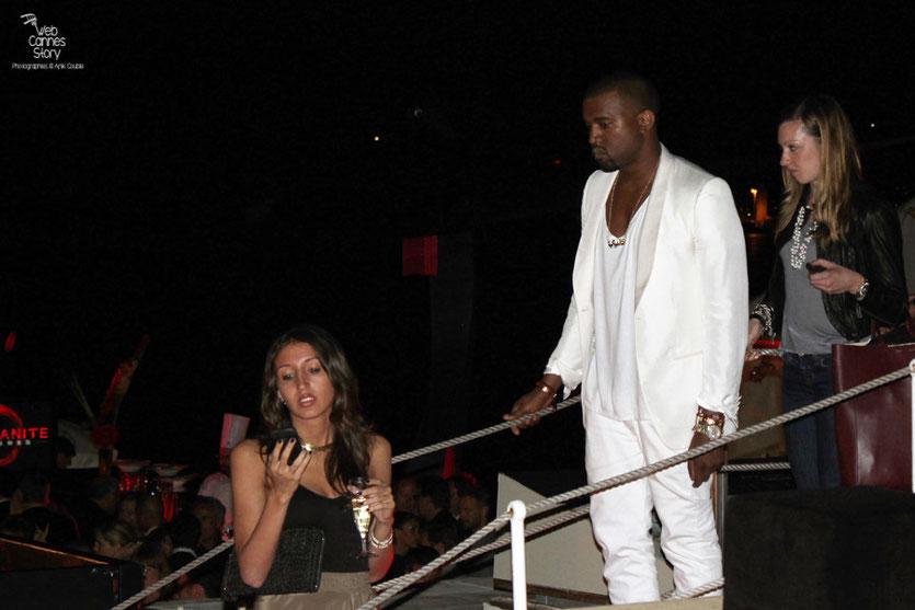 Arrivée de Kanye West à la Soirée Red Granite Pictures - Festival de Cannes 2011 - Photo © Anik Couble