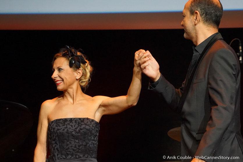 Natalie Dessey et Laurent Naouri - Cérémonie de remise du Prix Lumière - Amphithéâtre 3000 - Lyon - Oct 2016 - Photo © Anik Couble