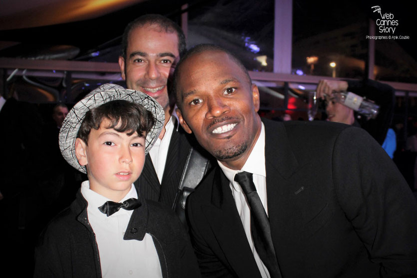 Soirée Red Granite Pictures,  en compagnie de Jamie Foxx - Festival de Cannes 2011 - Photo © Anik Couble