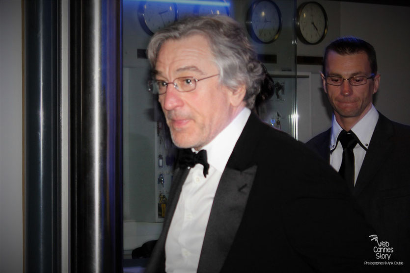 Robert de Niro, Président du Jury - Festival de Cannes 2011 - Photo © Anik Couble