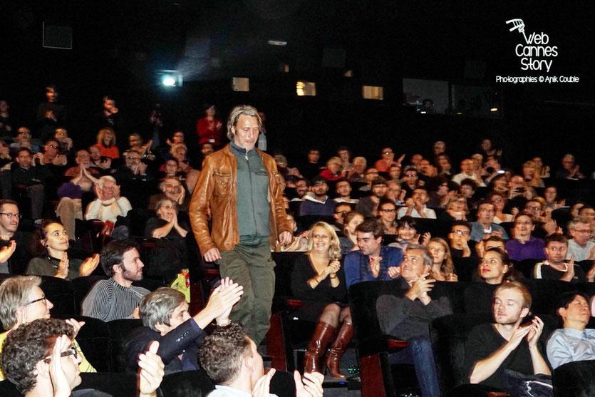 """Mads Mikkelsen, lors de la présentation du film """"Les Négriers"""" - Festival Lumière 2015 - Lyon - Photo © Anik COUBLE"""