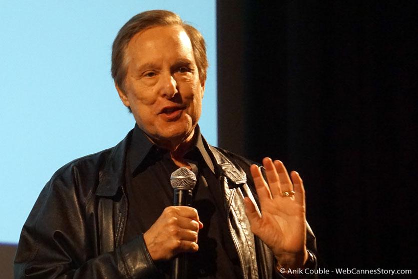 William Friedkin, lors de la présentation, de son film Le Convoi de la peur,  à l'Institut Lumière - Festival Lumière 2017 - Photo © Anik Couble