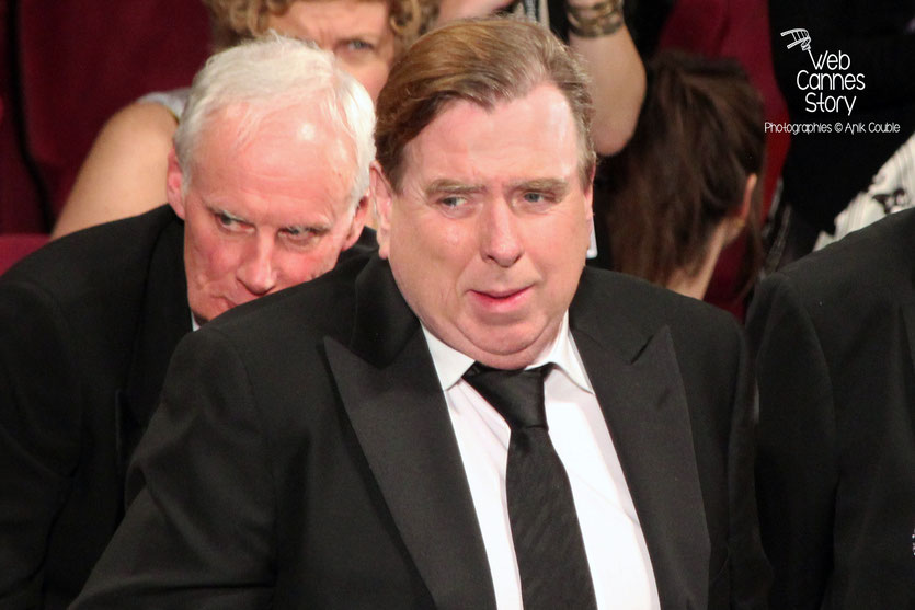 "Timothy SPALL, lors de la projection de ""MR TURNER""- Festival de Cannes 2014 - Photo © Anik COUBLE"