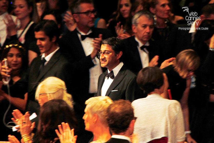 "Asif Kapadia, lors de la projection de son film ""Amy"" -  Festival de Cannes 2015 -Photo © Anik COUBLE"