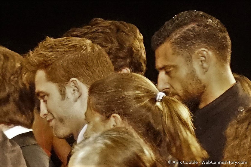"Robert Pattinson, venu assister à la projection du film, ""You were never really here"", de Lyne Ramsay - Festival de Cannes 2017 - Photo © Anik Couble"