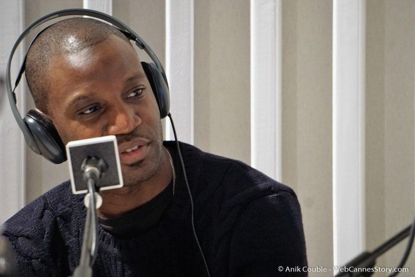 """Abd Al Malik,  à """"La Grande Emission"""" de Radio Lumière - Festival Lumière 2016 - Lyon - Photo © Anik Couble"""