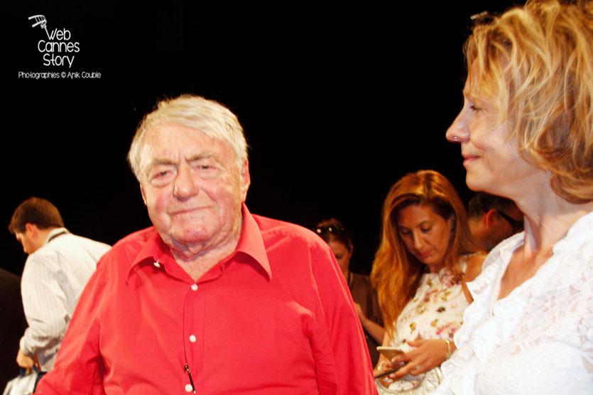 Claude Lanzmann, lors de l'hommage aux frères Lumière - Festival de Cannes 2015 - Photo © Anik COUBLE