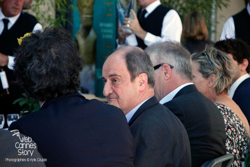 Pierre LESCURE, Président du Festival de Cannes, lors du traditionnel déjeuner de presse, offert par le maire de Cannes - Festival de Cannes 2015 - Photo © Anik COUBLE