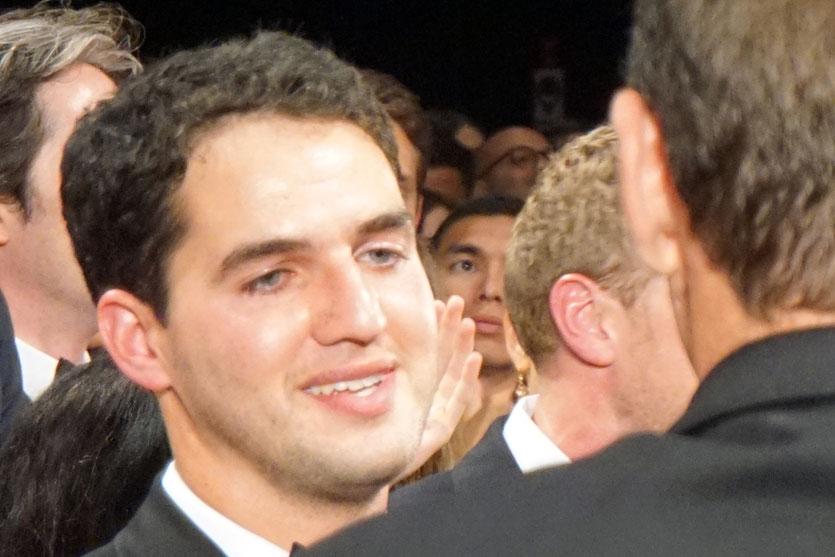 """Benny Safdie, lors la projection de son film """"Good Time"""" coréalisé avec son frère Josh Safdie - Festival de Cannes 2017 - Photo © Anik Couble"""