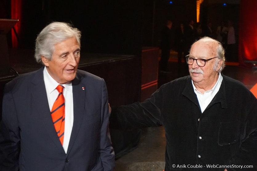 Jean - Loup Dabadie et Jean Becker - Cérémonie d'ouverture - Festival Lumière 2016 - Lyon - Photo © Anik Couble