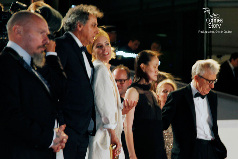 "L'équipe du film ""L'Homme irrationnel"" de  Woody Allen - Festival de Cannes 2015 - Photo © Anik Couble"