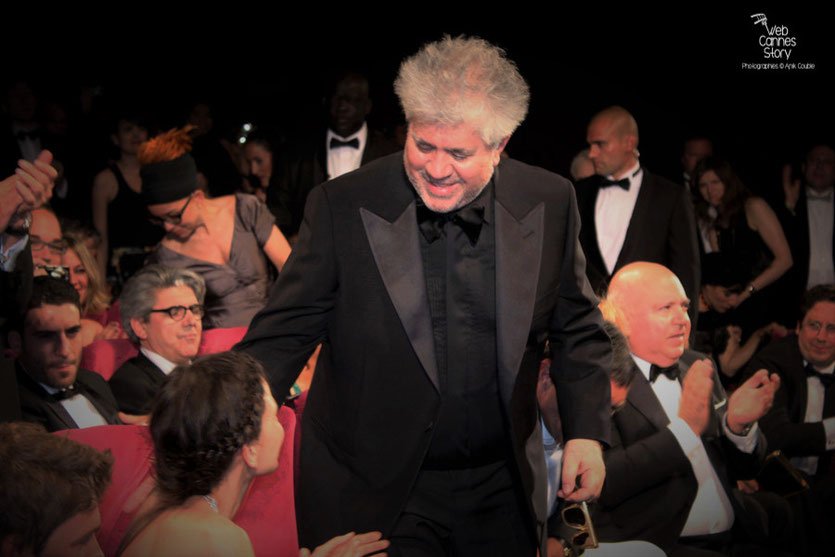 "Pedro Almodovar, lors  projection de son  film "" La piel que habito ""- Festival de Cannes - 2011 - Photo © Anik Couble"