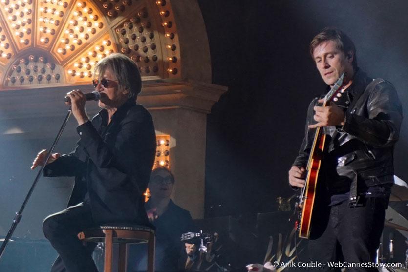 Concert Les Vieilles Canailles - Eddy Mitchell, Johnny Hallyday et Jacques Dutronc - Printemps de Pérouges - Photo © Anik Couble
