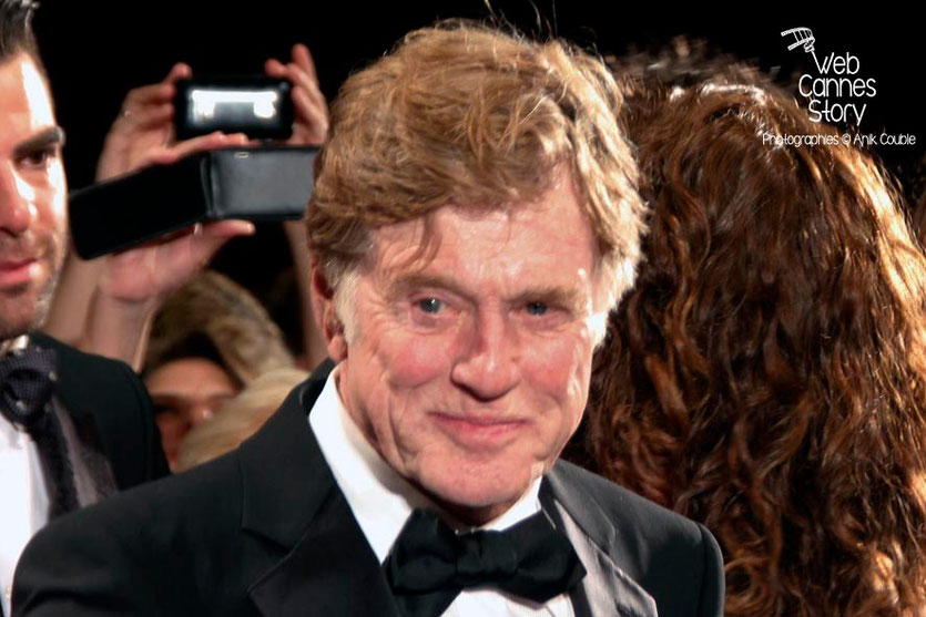 Robert Redford, lors de la projection de «All is lost» de J.C. Chandor  - Festival de Cannes 2013 - Photo © Anik COUBLE