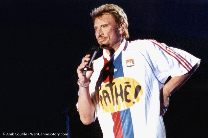 Johnny Hallyday - Stade de Gerland - Lyon - Juillet 2000 © Anik COUBLE