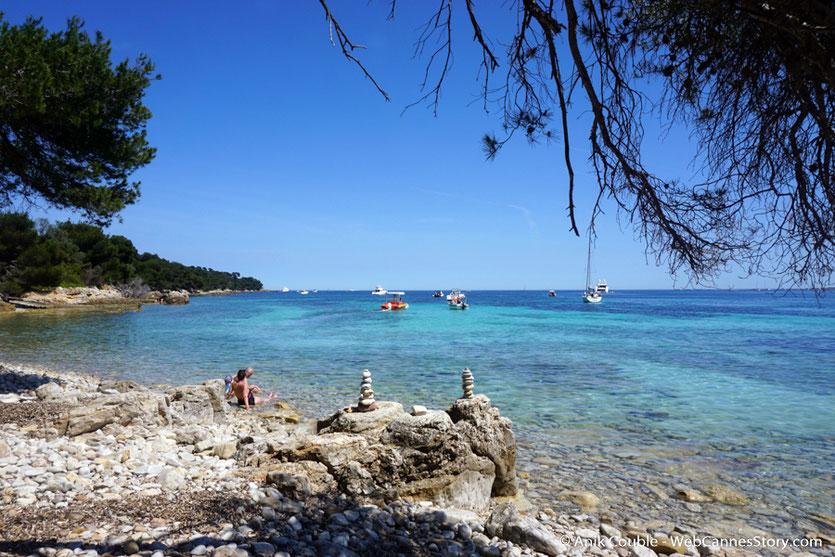 Agréable balade sur l'île Ste Marguerite, au cadre sauvage et préservé - Festival de Cannes 2017 - Photo © Anik Couble