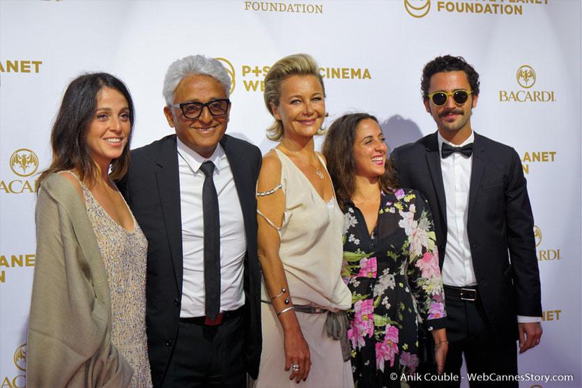Patrick Partouche, en famille, lors du dîner de gala de la Fondation Positive Planet et de la remise des prix de la Positive Cinema Week 2017 - Festival de Cannes 2017 - Photo © Anik Couble