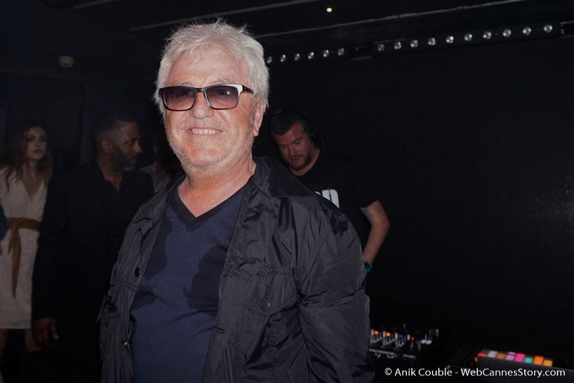 """Cerrone aux platines, à la Villa Schweppes, lors de la soirée du film """"Ma Loute"""", de Bruno Dumont - Festival de Cannes 2016 - Photo © Anik Couble"""