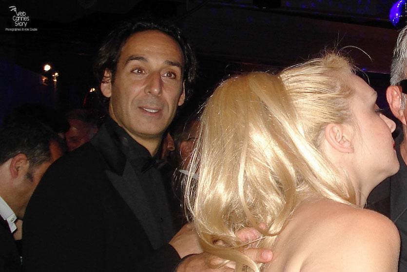Alexandre Desplat,  Membre  du Jury, lors de la soirée de Clôture - Festival de Cannes 2010 - Photo © Anik Couble