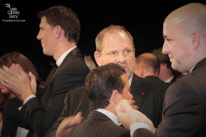 "Harvey Weinstein, lors de la projection du film ""The Sapphires""  de Wayne Blair - Festival de Cannes 2012 -  Photo © Anik Couble"